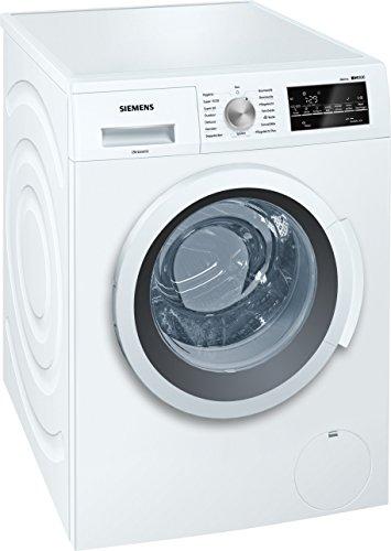 siemens iq500 wm14t420 isensoric waschmaschine a 1400 upm 7 kg weiss varioperfect grosses display mit endezeitvorwahl selbstreinigungsschublade - Siemens iQ500 WM14T420 iSensoric Waschmaschine A+++ / 1400 UpM / 7 kg / Weiß / VarioPerfect / Großes Display mit Endezeitvorwahl / Selbstreinigungsschublade