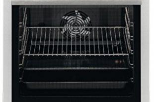 AEG 47A56VS-MN 60 cm Standherd mit Glaskeramik-Kochfeld / Bräterzone / Mehrkreiskochzone / Versenkknebel / Grillfunktion / Display mit Uhr / A